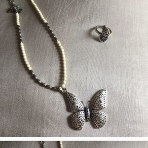 Lucky brand butterfly set